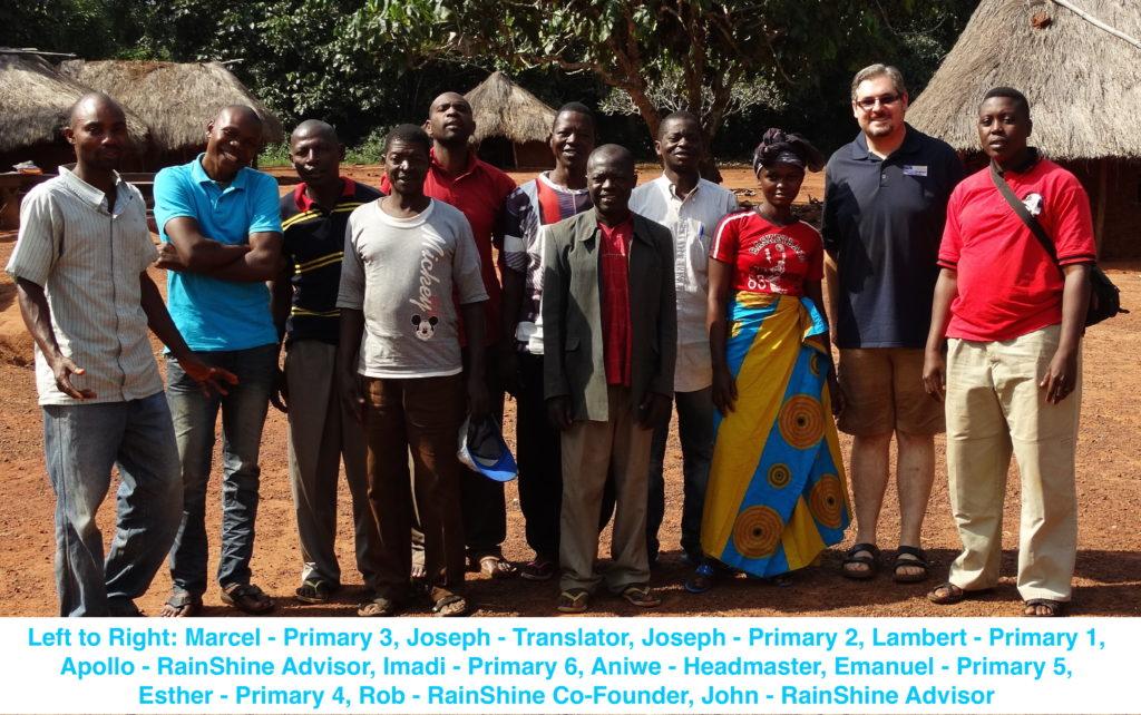The RainShine Foundation Primary School Teachers and Staff
